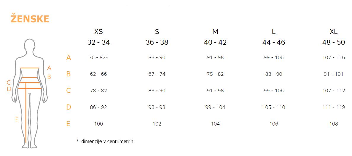 Tabela velikosti
